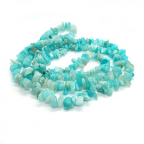 Peru Amazonite Chip Beads