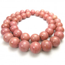 Rhodonite 10mm Round Beads