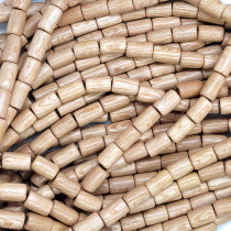 Rosewood Tube Wood Beads