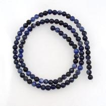 Sodalite 4mm Round Beads