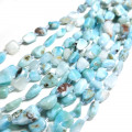 Larimar 10mm Nugget Beads