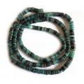 4-5mm Green Hammer Shell Heishi Beads