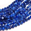 Blue Kyanite Diamond Cut Rounds