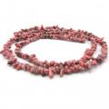 Rhodonite Chip Beads