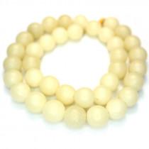 Buri 10mm Round Seed Beads