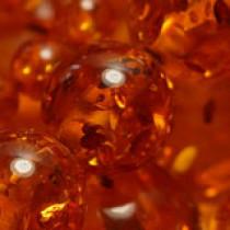 Imitation Amber 4mm Round Beads