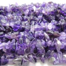 Amethyst 3x5 Chip Beads
