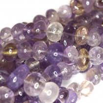 Ametrine 9x12mm Centre Drilled Nuggets
