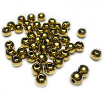 Tibetan Style Antique Gold 4mm Bead