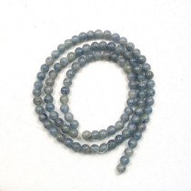 Blue Aventurine 4mm Round Beads