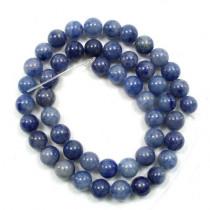 Blue Aventurine 8mm Round Beads