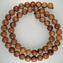 Bayong 8mm Round Wood Beads