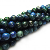 Chrysocolla 4mm Round Beads