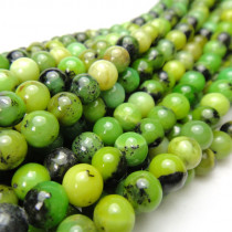 Chrysoprase 6mm Round Beads
