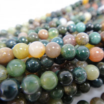 Fancy Jasper Round 4mm Beads