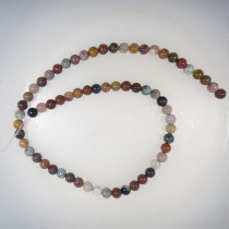 Fancy Jasper Round 6mm Beads