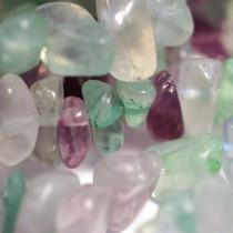 Fluorite Chip Beads
