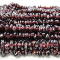 Garnet Chip Beads