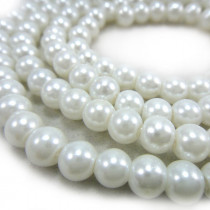 Glass Pearl Beads 6mm