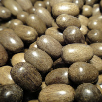 Greywood Oval Wood Beads (Side Drilled)