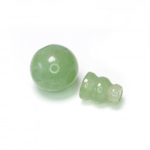 Green Aventurine Guru Bead 10mm