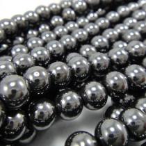 Hematite 6mm Round Beads