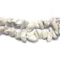 Howlite Chip Beads