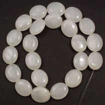 Xingjiang Jade 15x18mm Oval Beads