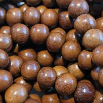 Nangka 10mm Round Wood Beads