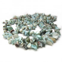 Larimar Chip Beads