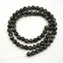 Larvikite 6mm Round Beads