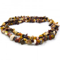 Mookaite Chip Beads
