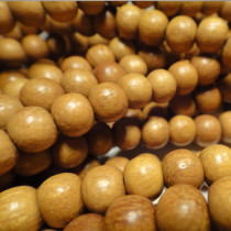 Nangka 6mm Round Wood Beads