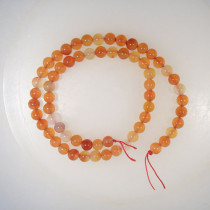Natural Colour Carnelian 6mm Round Beads
