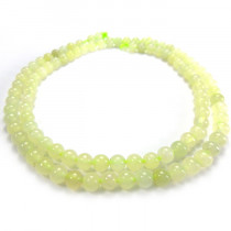 New Jade 4mm Round Beads