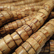 Palmwood Pukalet Wood Beads