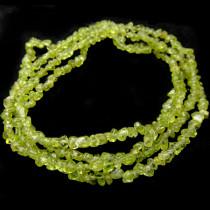 Peridot Small Chip Beads