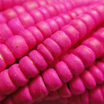 Coco Pink Wood Beads