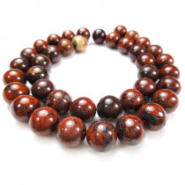 Poppy Jasper 10mm Round Beads