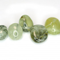 Prehnite Drop Style Chip Beads