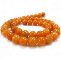 Red Aventurine 8mm Round Beads
