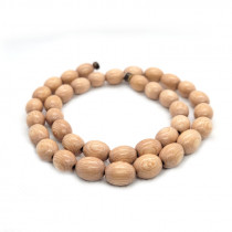Rosewood Oval Wood Beads