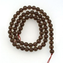 Smoky Quartz 6mm Round Beads