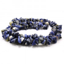 Sodalite Large Chip Beads