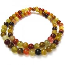 Soocho Jade 6mm Round Beads