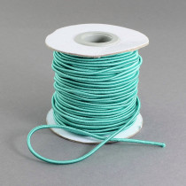 Turquoise Elastic Cord 2mm Round 30m Roll