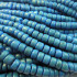Coco Azure Blue Wood Beads