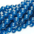 Malay Jade Mineral Blue 10mm Round Beads