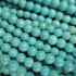 Reconstituted Turquoise 6mm Round Beads