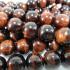 Red Tiger Eye 8mm Round Beads